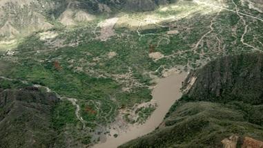 CAM - Quimbo -Presencia de cobertura en pie y corte localizada en la zona 1