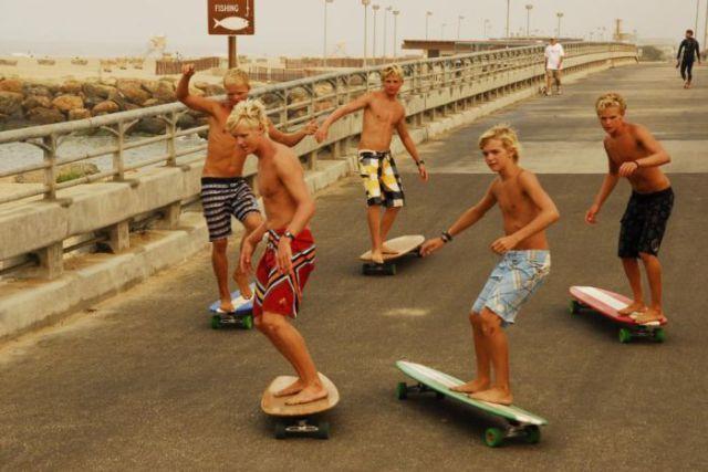 cafc1ce4b32 El Skateboarding es un deporte que se originó en California
